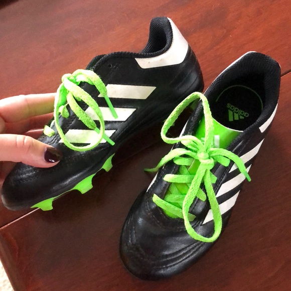 b6017448d54 adidas Other - Size 13 Adidas soccer shoes. Lace up neon green